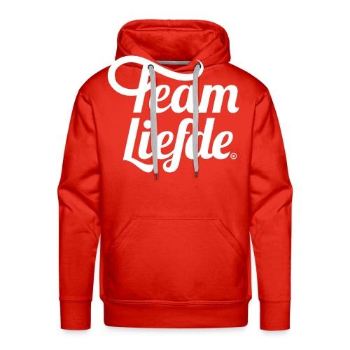 teamliefdedef - Mannen Premium hoodie