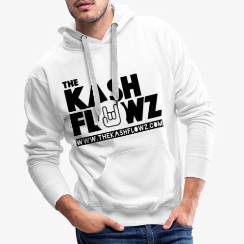 The Kash Flowz Official Web Site Black - Sweat-shirt à capuche Premium pour hommes