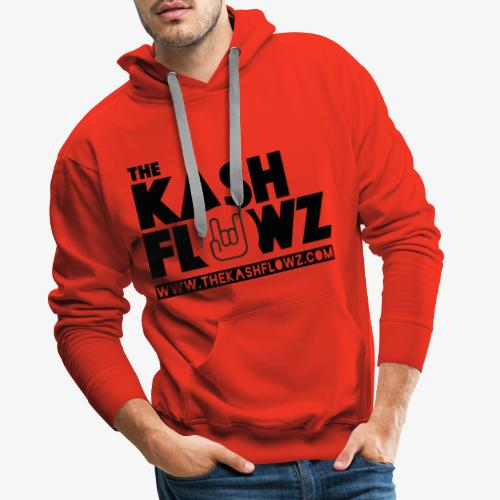 The Kash Flowz Official Web Site Black - Sweat-shirt à capuche Premium pour hommes