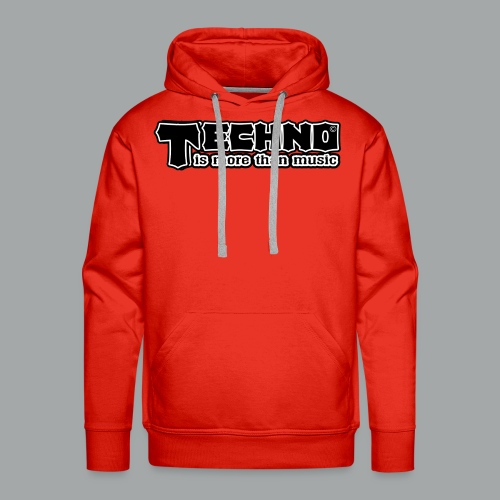 Techno Is More Than Music - Männer Premium Hoodie