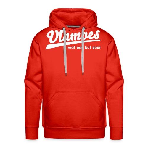vlamoes kut zooi - Mannen Premium hoodie