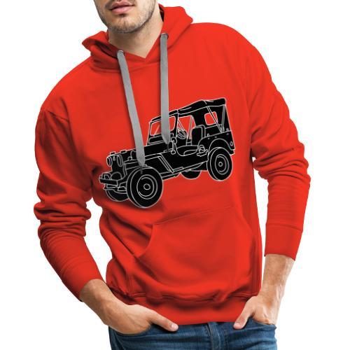 Geländewagen SUV 2 - Männer Premium Hoodie