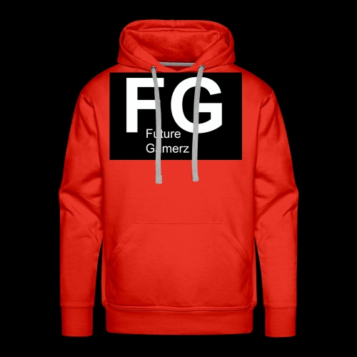 FG lofo boxed black boxed - Men's Premium Hoodie