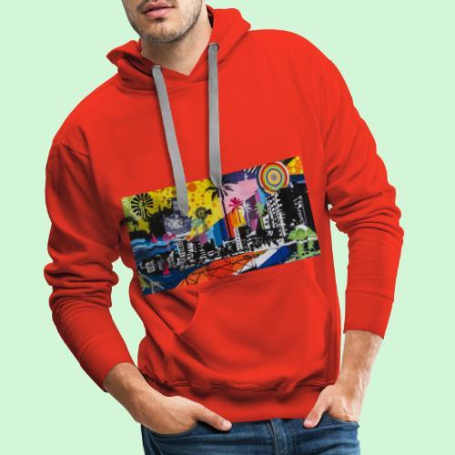 Graffiti - Männer Premium Hoodie