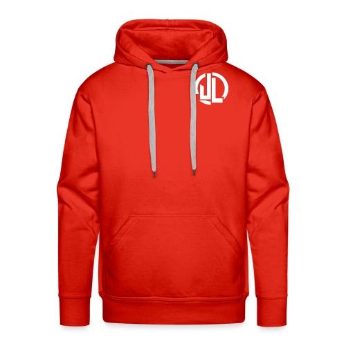 The White JL Logo - Men's Premium Hoodie