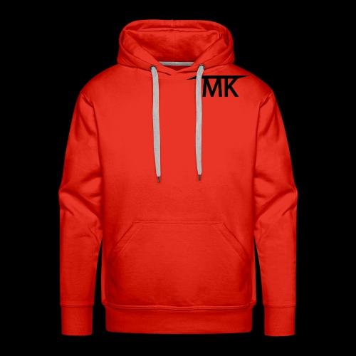 TMK LOGO joined - Men's Premium Hoodie