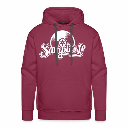 Samples.fr noir - Sweat-shirt à capuche Premium pour hommes