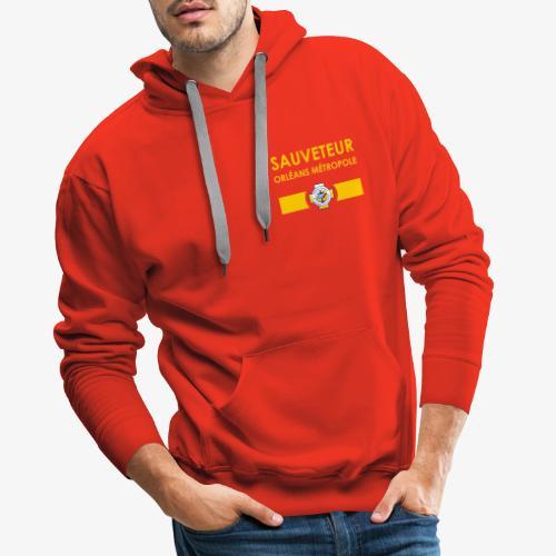 Gamme Sauveteur Aquatique - Sweat-shirt à capuche Premium pour hommes