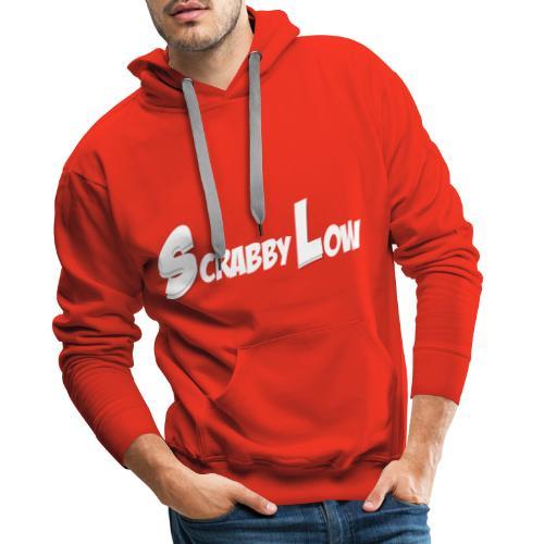 ScrabbyLow (Big S + L) - Men's Premium Hoodie