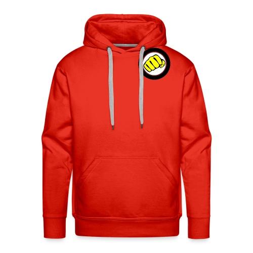 logo omega crew - Sweat-shirt à capuche Premium pour hommes