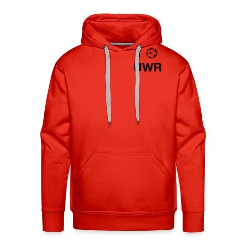 I Love UWR (2 Zeilen, Sans) - Männer Premium Hoodie