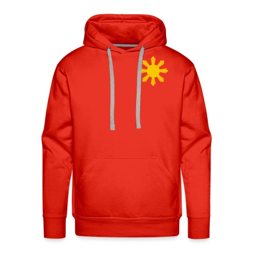 philippine sun hi - Felpa con cappuccio premium da uomo