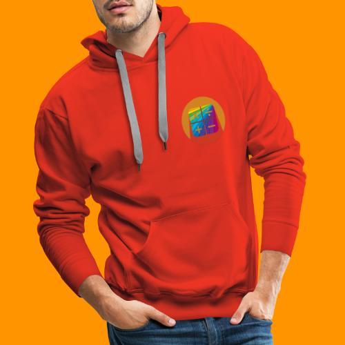 Matemáticas Sin Más Rainbow - Sudadera con capucha premium para hombre