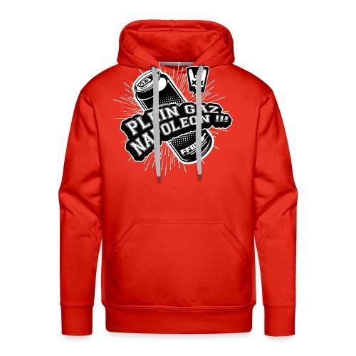 PLEIN GAZ NAPOLEON couleur - Sweat-shirt à capuche Premium pour hommes