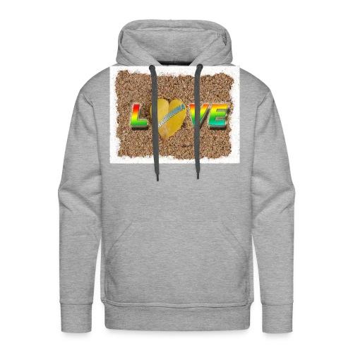 love,madinina - Sweat-shirt à capuche Premium pour hommes