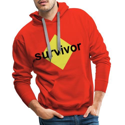 Survivor - Mannen Premium hoodie
