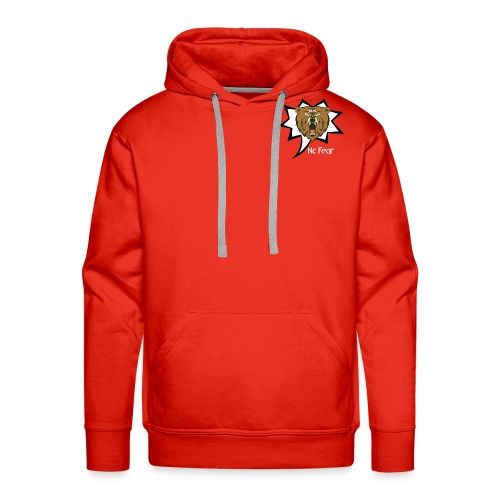 Bear Roar Logo - Men's Premium Hoodie