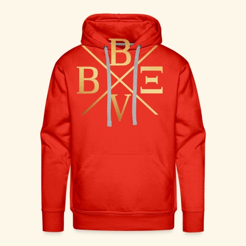 BVBE Gold X Factor - Men's Premium Hoodie