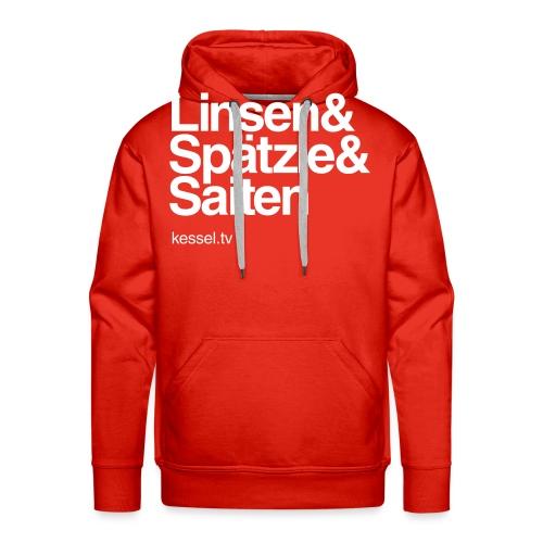 Linsen & Spätzle & Saiten - Männer Premium Hoodie