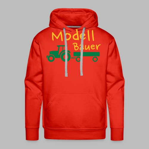 Modellbauer - Modell Bauer - Männer Premium Hoodie