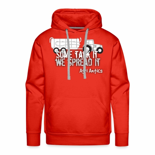 SOME TALK IT SLURRY - Men's Premium Hoodie