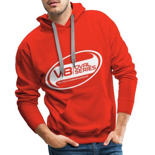 Alternatief logo wit - Mannen Premium hoodie
