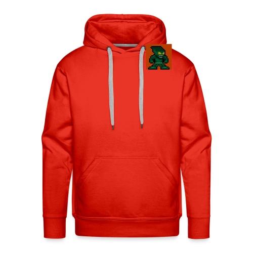 Green Goblin Pixel - Men's Premium Hoodie