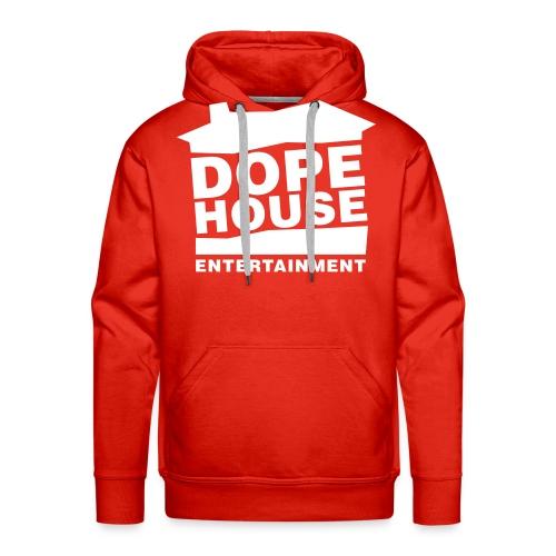 Dope House Logo Hellgrau - Männer Premium Hoodie