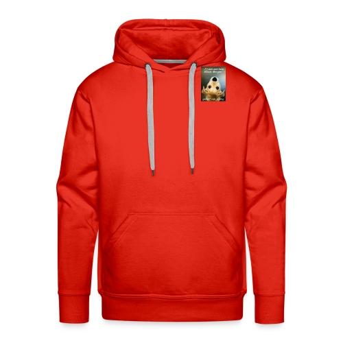 geniet van je dag - Mannen Premium hoodie