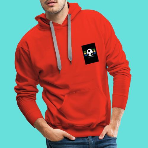 Quel est le score - Sweat-shirt à capuche Premium pour hommes