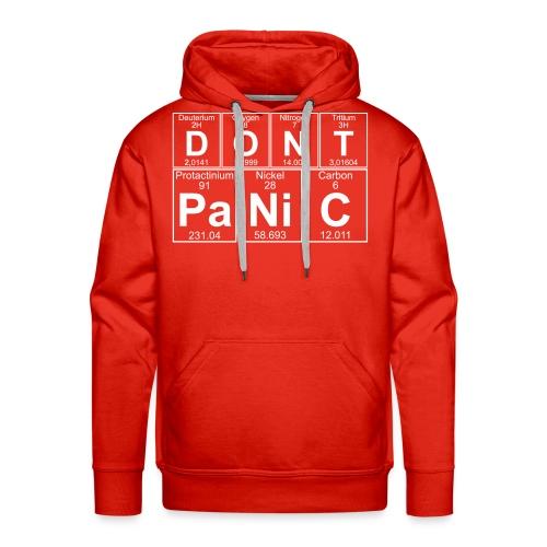 D-O-N-T Pa-Ni-C (don't Panic) - Men's Premium Hoodie