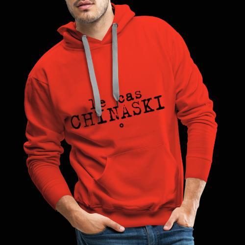 Le Cas Chinaski - Sweat-shirt à capuche Premium pour hommes