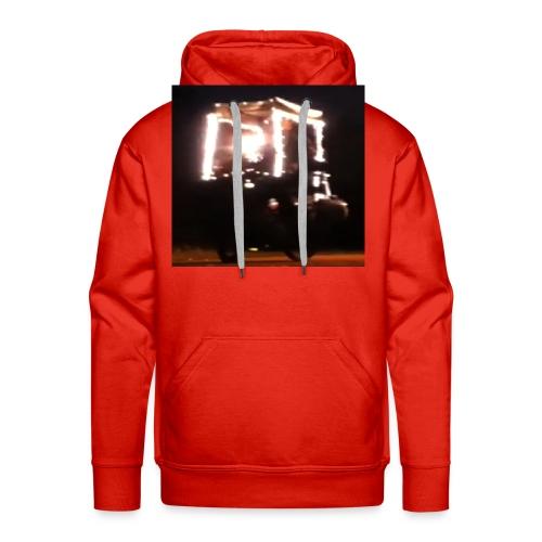 Kaufen Sie Frohe Weihnachten Lichter T-Shirt für Männer Frauen - Männer Premium Hoodie