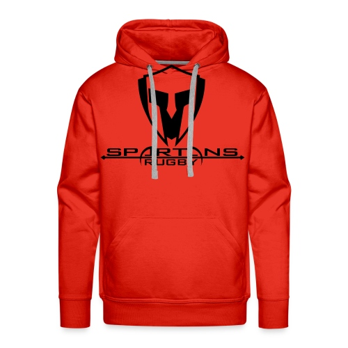 spartans logo neu - Männer Premium Hoodie