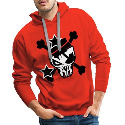skull - Mannen Premium hoodie