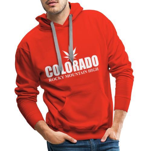 rocky mountain high - Sweat-shirt à capuche Premium pour hommes