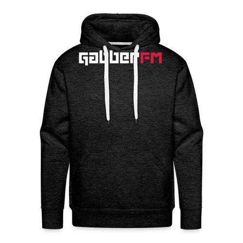 Gabber FM Letters - Men's Premium Hoodie