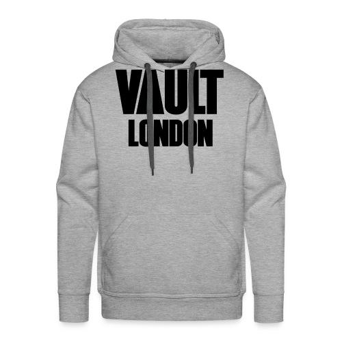 VAULT LONDON block black - Men's Premium Hoodie