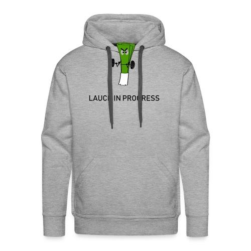 Lauch in Progress T-Shirt Design - Männer Premium Hoodie