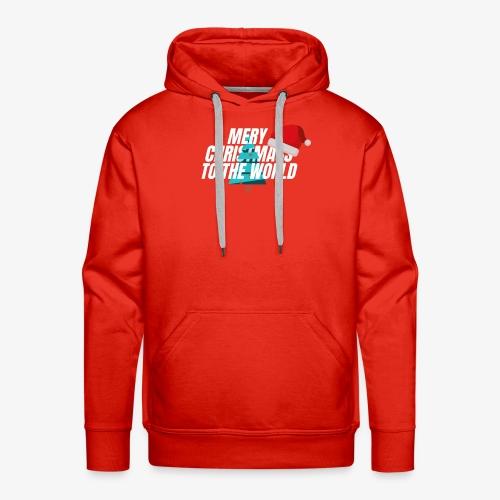 MERY CHRISTMASS - Sweat-shirt à capuche Premium pour hommes