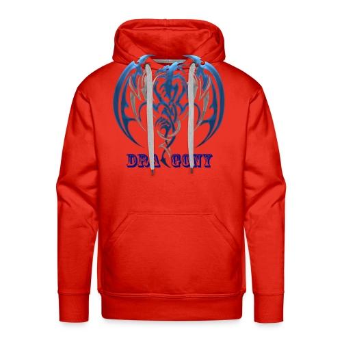 dragony 1 - Sweat-shirt à capuche Premium pour hommes