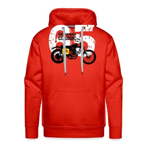 M129 - Sweat-shirt à capuche Premium pour hommes