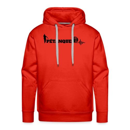 Pétanque Sport Schrft T-Shirt - Männer Premium Hoodie