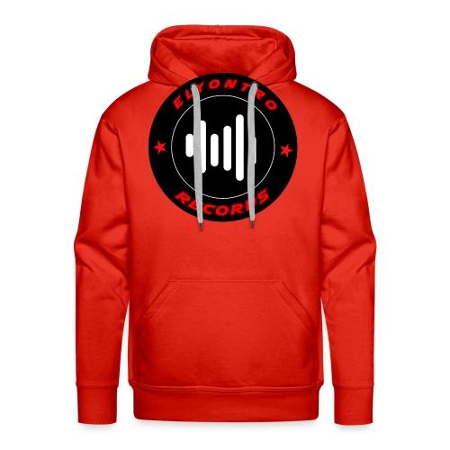 Logo Elyontro records - Sweat-shirt à capuche Premium pour hommes