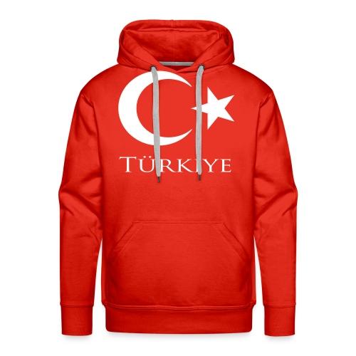 turk2 - Mannen Premium hoodie