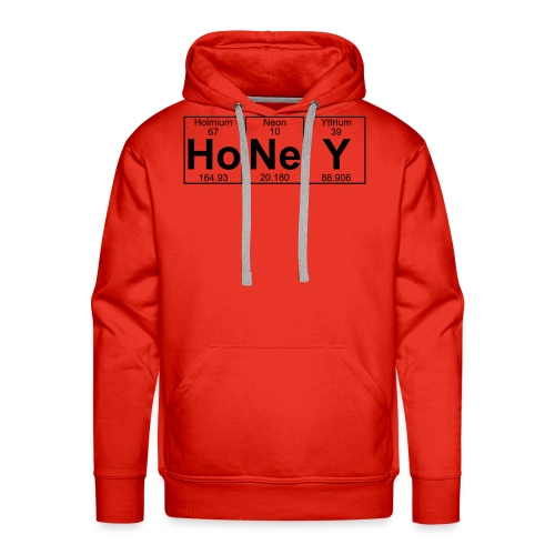 Ho-Ne-Y (honey) - Full - Men's Premium Hoodie