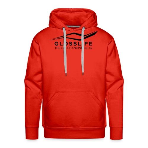 Glosslife Logo - Männer Premium Hoodie