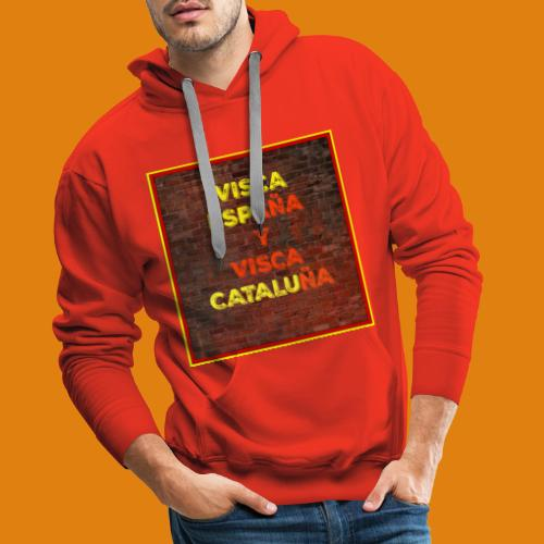 SPAIN AND CATALONIA - Men's Premium Hoodie