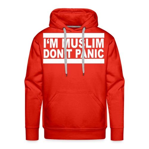 immuslim dontpanic - Männer Premium Hoodie