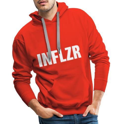 INFLZR white - Männer Premium Hoodie